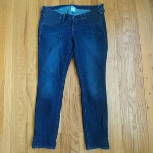 Old Navy Maternity Skinny Side Panel jeans 12